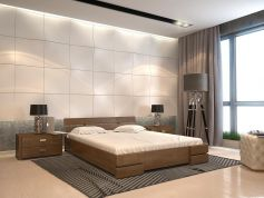 Деревянная кровать Дали фото 1