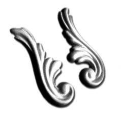 Двухсторонний гипсовый орнамент ФР0008 фото 1