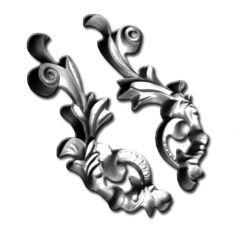Двухсторонний гипсовый орнамент ФР0033 фото 1