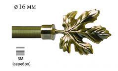 Финал металлический EM-108 для карниза 16 мм фото 1