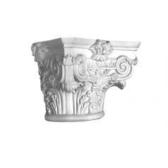 Капитель для классической колонны или полуколонны из гипса фото 1
