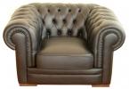 Кожаный диван Честер фото 3