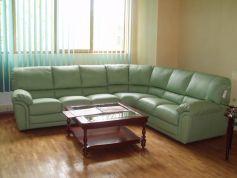 Кожаный диван Пегас угловой фото 1