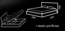 Кровать Bianka (Бьянка) фото 2