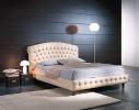 Кровать Честер в обивке из натуральной кожи фото 1