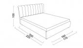 Кровать Gloria (Глория) фото 3
