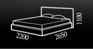 Кровать Korvet (Корвет) фото 2