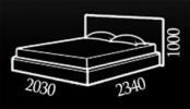 Кровать Nicole (Николь) фото 2
