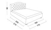 Кровать Tiffany (Тиффани) фото 5