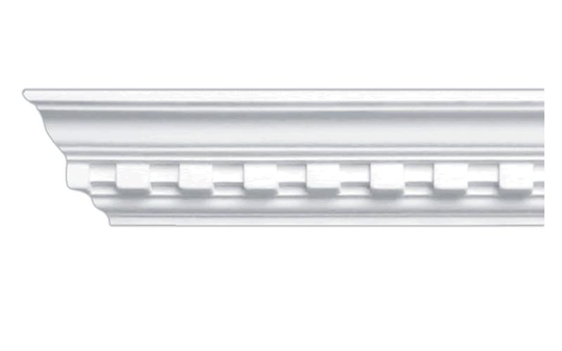 Лепной потолочный карниз с орнаментом CC-0724 фото 1