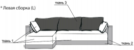 Угловой диван Комби 1 фото 2