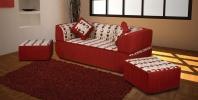 Бескаркасный диван Тюльпан 2 фото 2