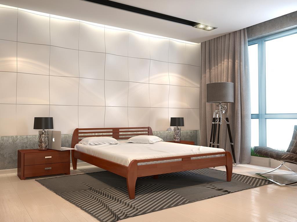 Деревянная кровать Поло фото 1