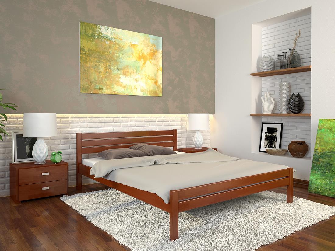 Деревянная кровать Роял фото 1