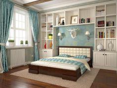 Деревянная кровать Регина фото 1