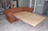 Кожаный диван Честер фото 6