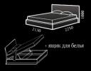 Кровать Afrodita (Афродита) фото 2