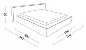 Кровать Loft (Лофт) фото 5