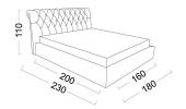 Кровать Shantal (Шантал) фото 3