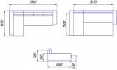 Угловой диван Бруно 3ДА фото 8
